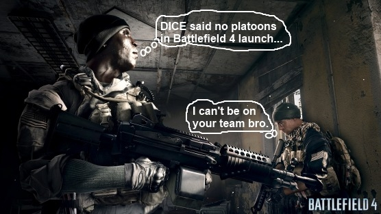 Взвод в Battlefield 4