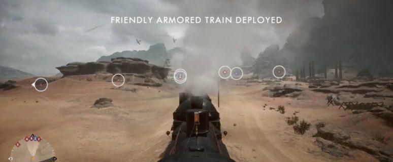Battlefield 1, как играть на бронепоезде